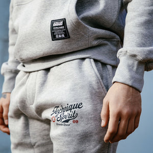 SCRAMBLE TECHNIQUE AND SPIRIT JOGGERS – GREY