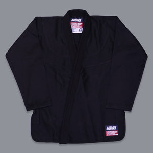 SCRAMBLE STANDARD ISSUE V3 2020 – SEMI CUSTOM BJJ GI – BLACK