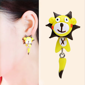 Unique And Adorable Cat Earrings (Limited Offer)