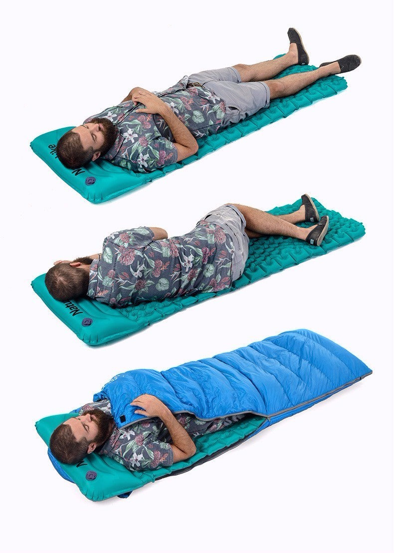 Inflating Sleeping Mattress (with & without Pillow)