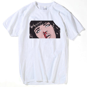 df2a2422 Unisex Mia Wallace T-Shirt – Graphic Junky