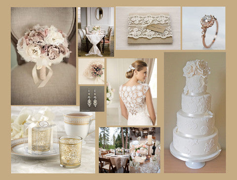 The wedding theme of VINTAGE will never get old!