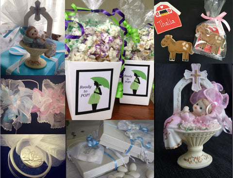 Grazie Gifts Baby favor arrangements