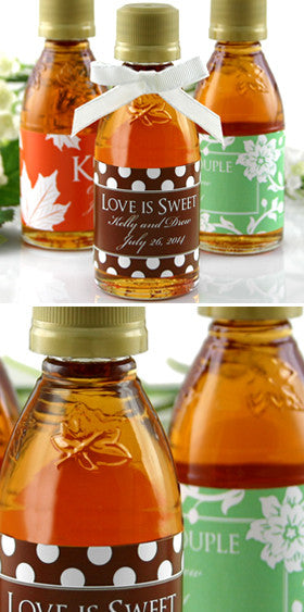 Maple Syrup Favor