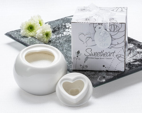 """Sweetheart"" Porcelain Sugar Bowl"
