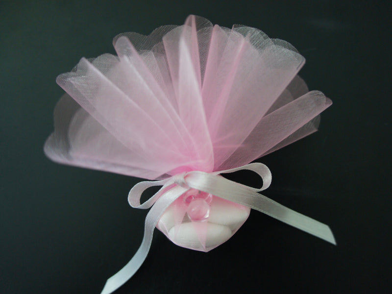 Confetti - Pink with Pink Pacifier Embellishment