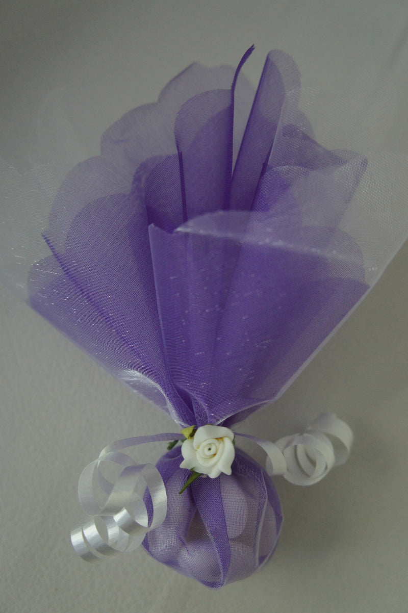 Confetti - White & Purple