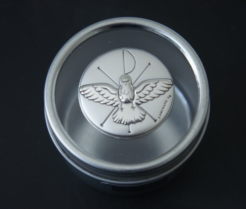 Argento/Silver Tin - Dove Design