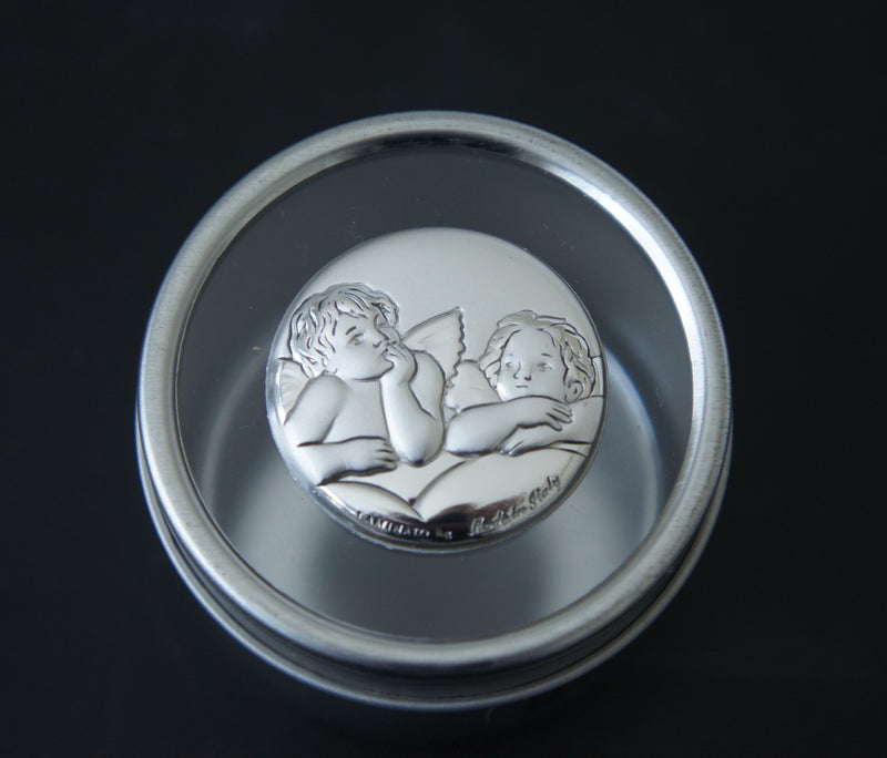 Argento/Silver Tin - Angel Design