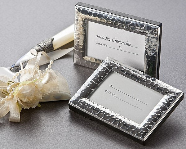 """Capture Elegance"" Mini Photo Frame / Place Card Holder"