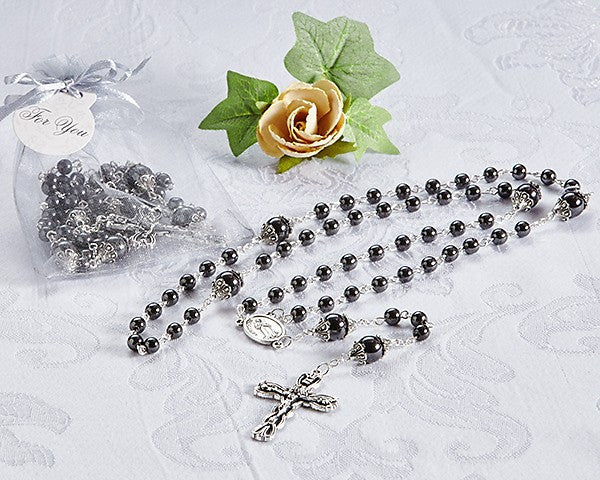 """Blessings"" Rosary Necklace"