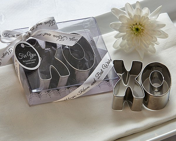 """XO"" Best Wishes Cookie Cutter Set"
