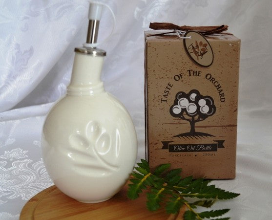 """Taste of the Orchard"" Olive Oil Bottle in Gift Box"