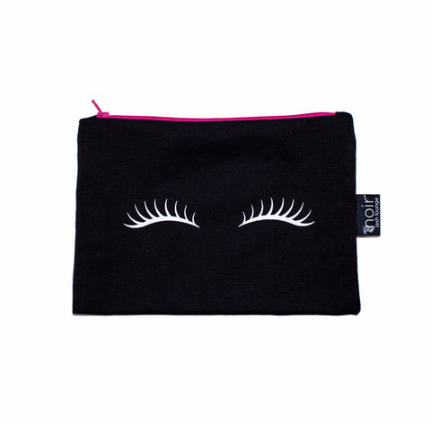 Lashes Makeup Bag (Black)
