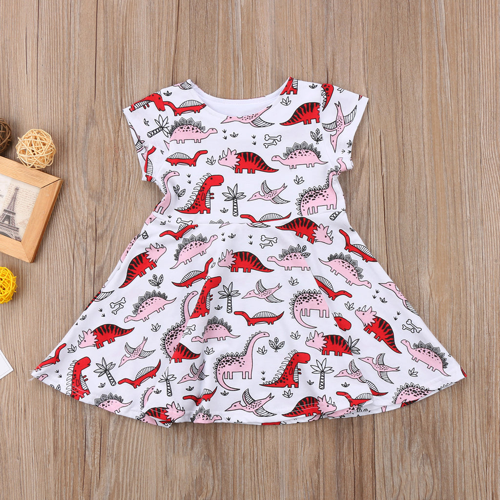 Gentle Dinosaur Toddler Dress - DinoGoods