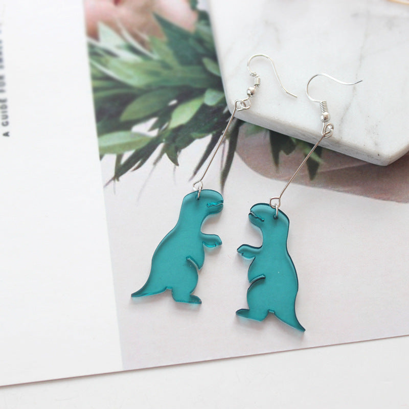 Simple T-Rex Flat Earrings - DinoGoods