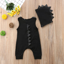 Adorable Toddler Spiky Dinosaur Jumpsuit