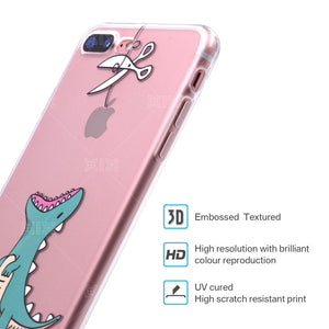 Funny Dinosaur iPhone Cases
