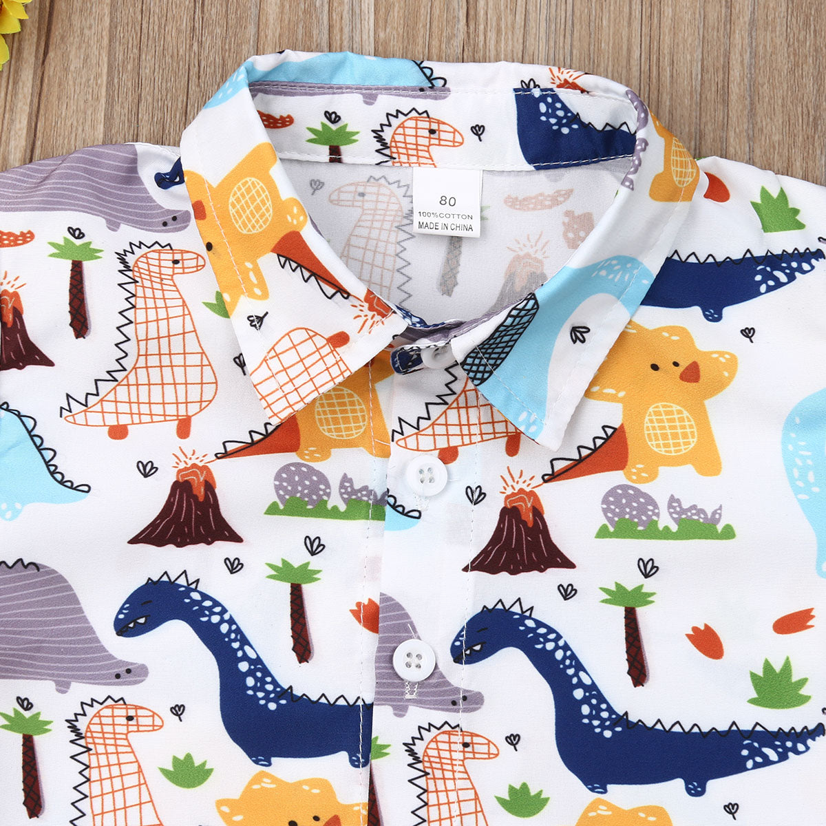 Summer Adventure Toddler Outfit - DinoGoods