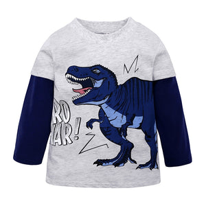 Fossil Hunter Toddler Long Sleeve Shirt - DinoGoods