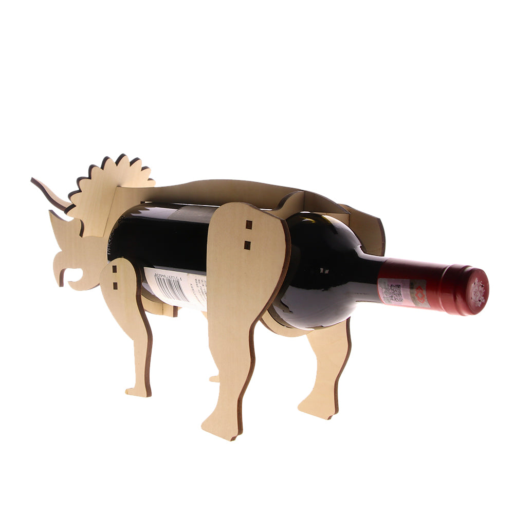 Triceratops Wine Bottle Holder - DinoGoods
