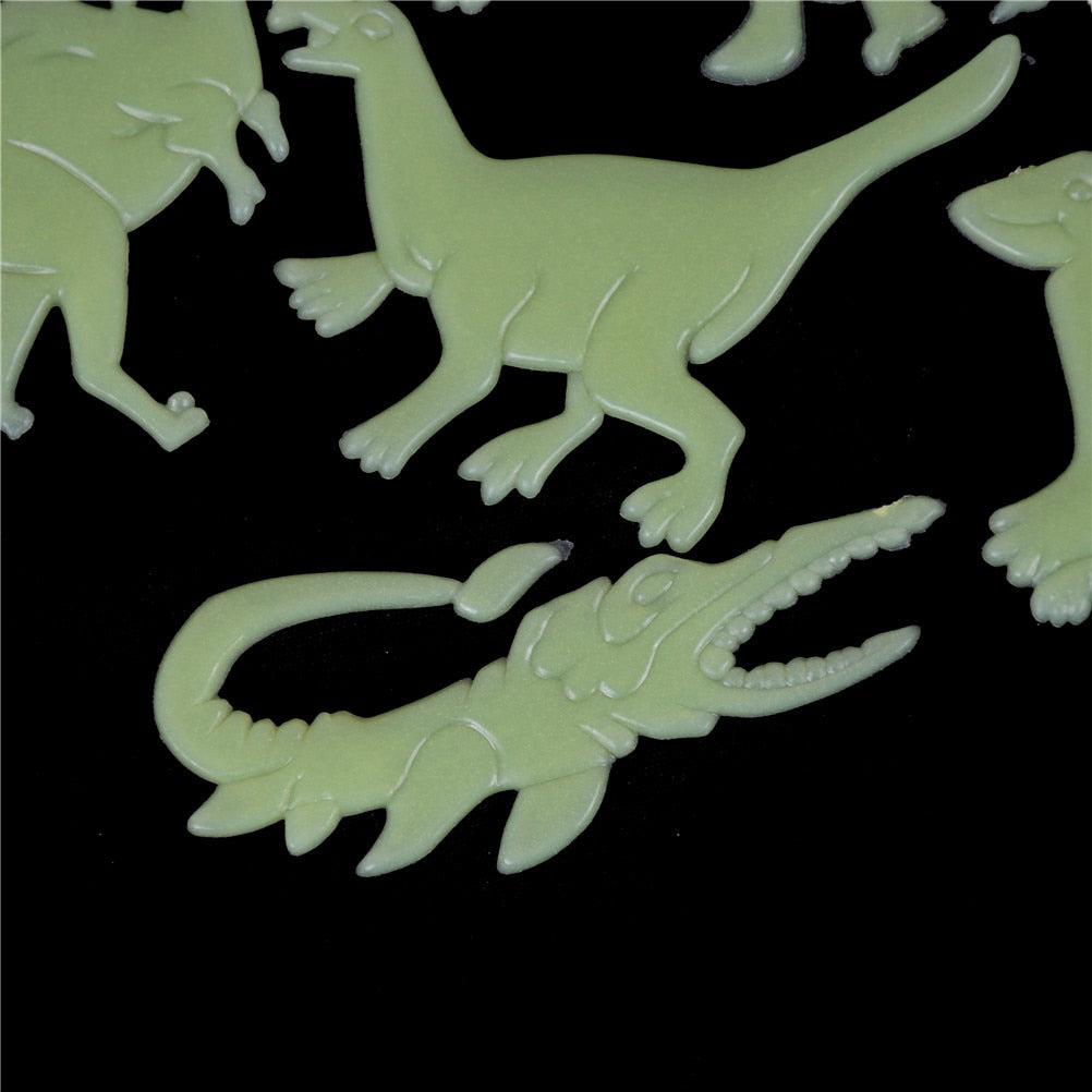 Jurassic Glow In The Dark Dinosaur Stickers for Kids - DinoGoods