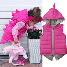 Kids Dinosaur Zipper Jacket