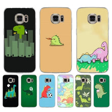 Cute Cartoon Dinosaur Phone Case for Samsung Galaxy