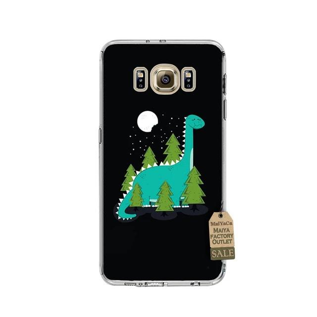 Cute Cartoon Dinosaur Phone Case for Samsung Galaxy - DinoGoods