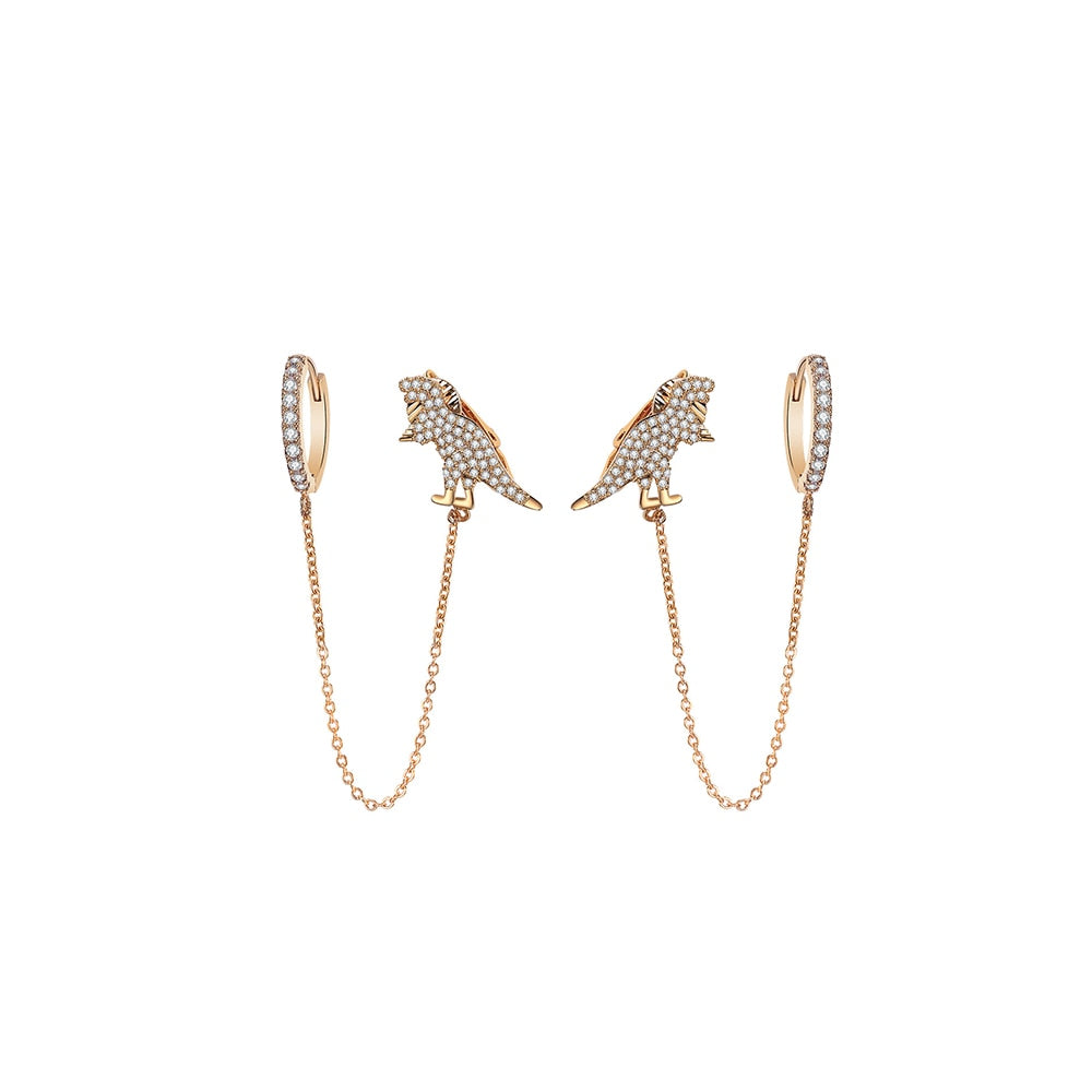 Dinosaur Stud Earrings For Women - DinoGoods