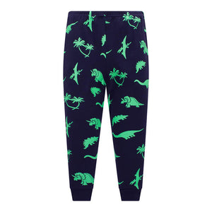 2-Piece Snug Fit Dinosaur Sleepwear - DinoGoods