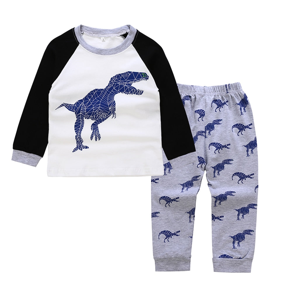 Toddler 2-Piece T-Rex Pajamas - DinoGoods