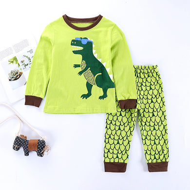 Adorable Dino Pajamas Set