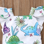 Colorful Dino Infant Romper - DinoGoods
