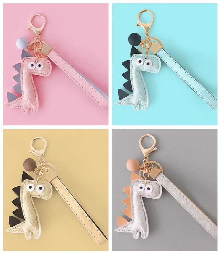 Adorably Cute Dino Keychains
