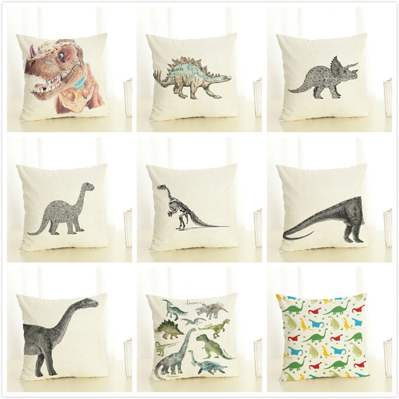 Dinosaur Decorative Pillow Cases - DinoGoods