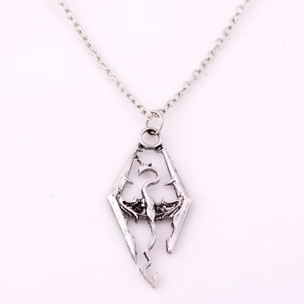 Dragon Pendant Necklace - Dinosaur Themed Gifts & Accessories