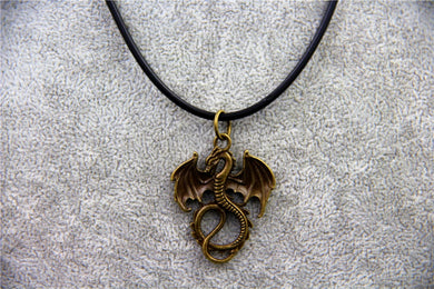 Dragon Jewelry Pendant Necklace - Dinosaur Themed Gifts & Accessories