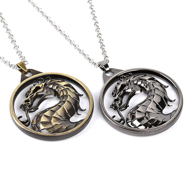 MK Dragon Necklace And Keychain - Dinosaur Gifts & Accessories
