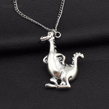 Happy Dinosaur Necklace - Dinosaur Themed Gifts & Accessories