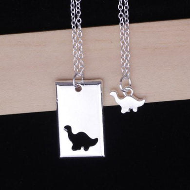 Gentle Giant Twin Necklace - Dinosaur Jewelry & Accessories