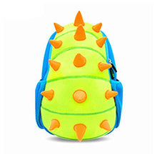 Spiked Dinosaur Boys Kids Schoolbag Backpack - Dinosaur Themed Gifts & Accessories
