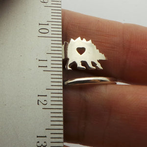 Stegosaurus Dinosaur Ring - Dinosaur Gifts & Accessories
