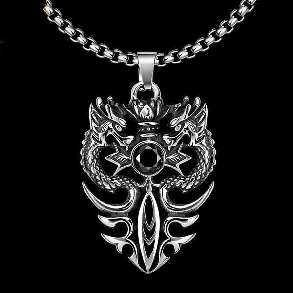 Dragon Twins Necklace - DinoGoods