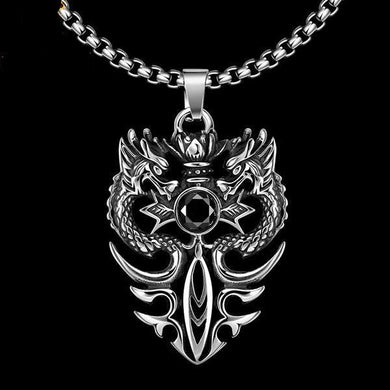 Dragon Twins Necklace - Dinosaur Gifts & Accessories