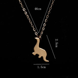 The Gentle Giant Necklace - Dinosaur Themed Gifts & Accessories