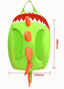 Kids Green Spiked Dinosaur Backpack - Dinosaur Themed Gifts & Accessories