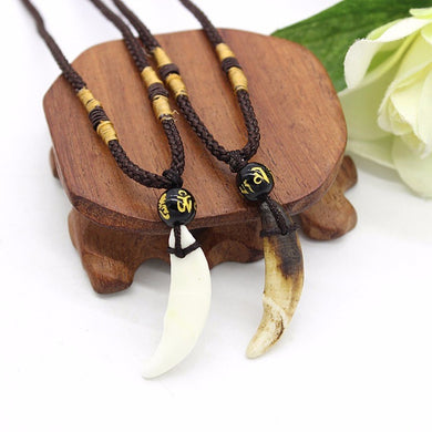 Fang Amulet Necklace - Dinosaur Themed Gifts & Accessories