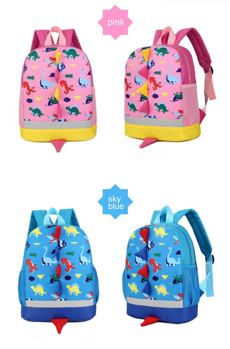 Dinosaur Friends Backpack for Kindergarteners - DinoGoods