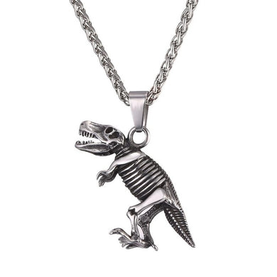 T-Rex Fossil Necklace - Dino Accessories